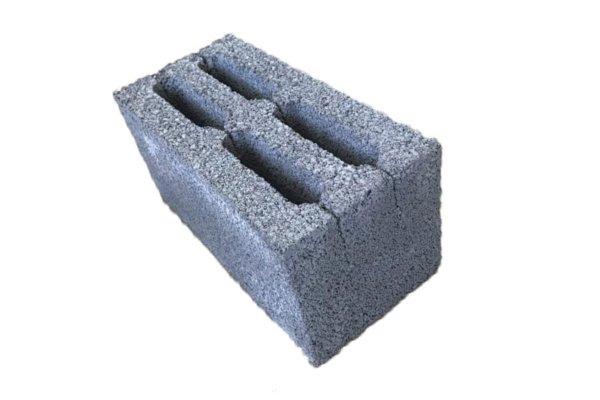 Керамзитобетонный блок Термо М50 вес 10 кг размер 390 х 190 х 188 мм