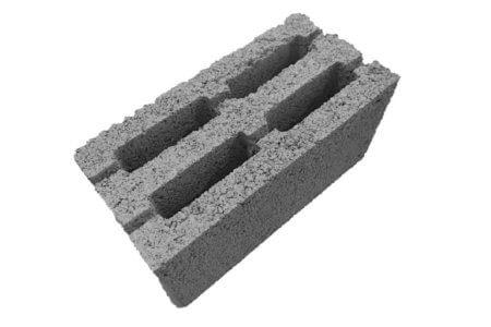блок керамзитобетонный термо без доломита в составе вес 11кг прочность М50, легкий и прочный, не впитывает влагу