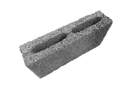 изображение блока керамзитобетонного для устройства перегородок, ширина 90мм