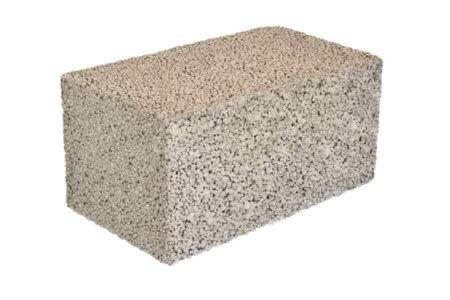 полнотелый керамзитоблок для устройства стен