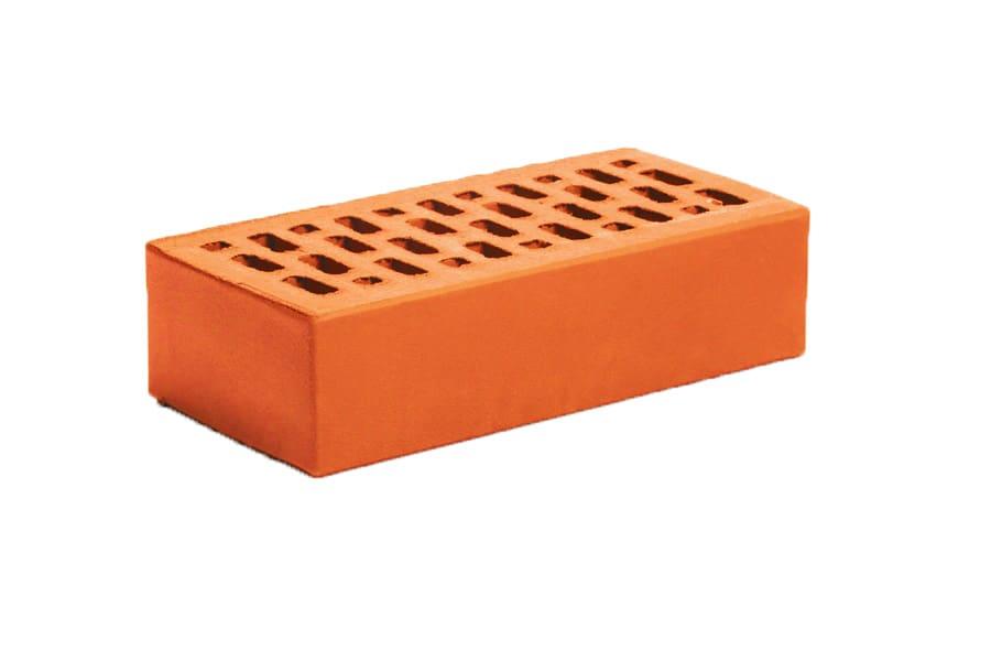 кирпич облицовочный одинарный красный гладкий Магма Керамик