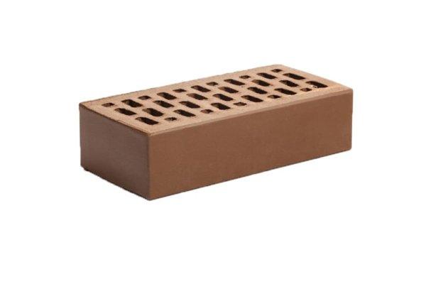 Кирпич одинарный лицевой шоколад гладкий Магма Керамик