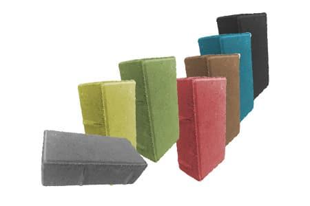 брусчатка кирпичик цветная в ассортименте