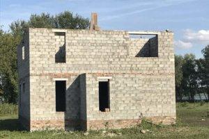 Дом из керамзиобетонного блока стандарт М50 строим в Самаре