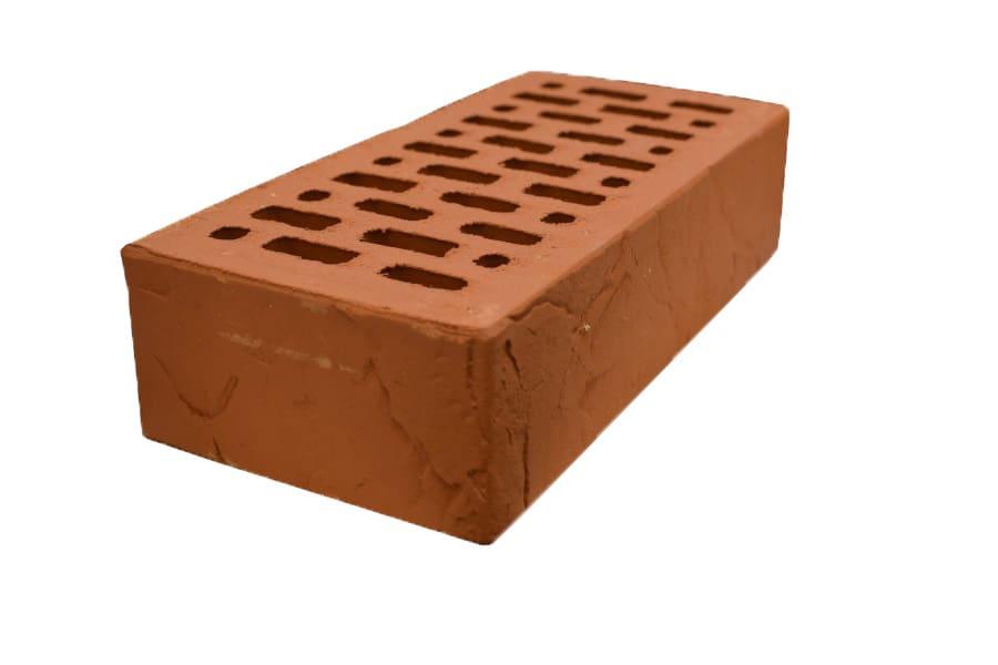 кирпич лицевой красный фактура сланец одинарный магма керамик