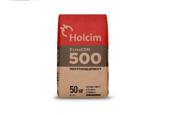 цемент хольцим holcim extracem 500
