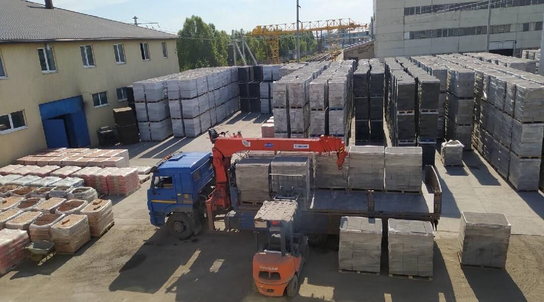 склад керамзитобетонных блоков в Самаре