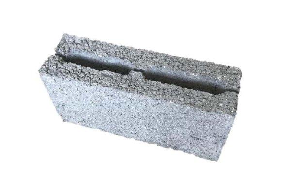 керамзитобетонный блок перегородочный 120 мм