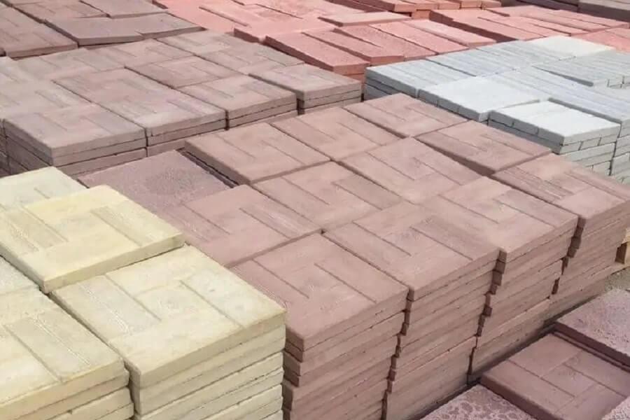 тротуарная плитка литьевая ассортимент