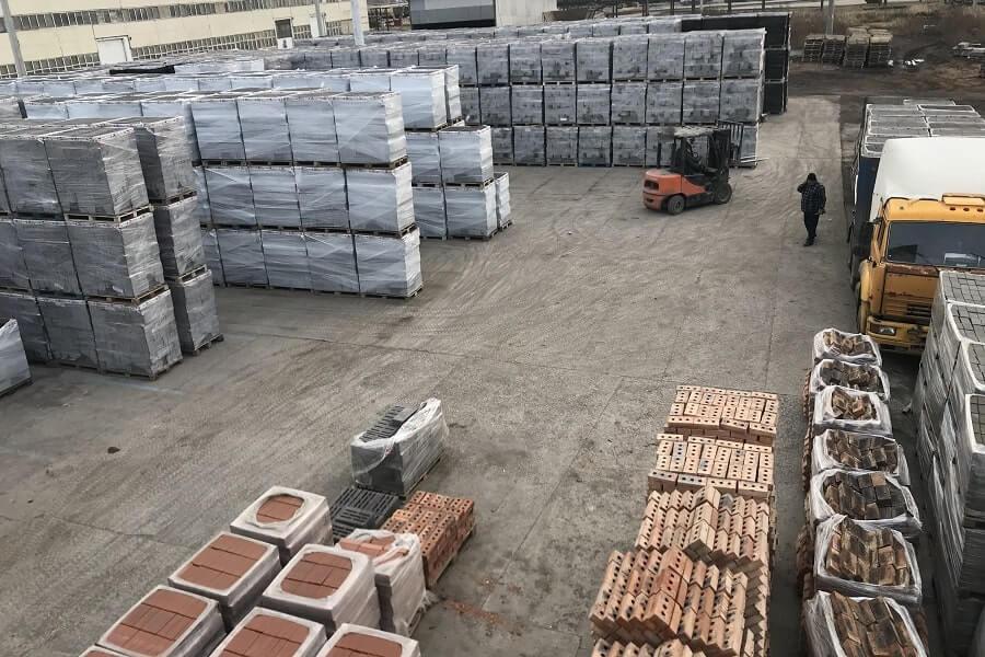 склад хранения керамзитобетонных блоков в Самаре